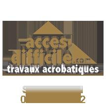 Travaux acrobatiques et d'accès difficiles